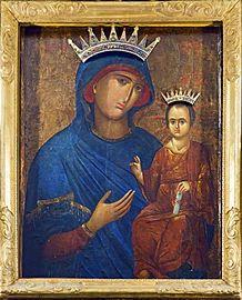 Basilica dei Santi Giovanni e Paolo (Venezia) - Icona bizantina portata a Venezia nel 1349, detta Madonna della Pace.