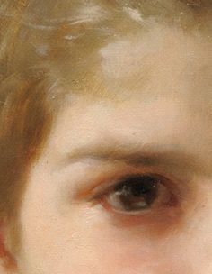 Bouguereau Eye Detail - Marvin Mattelson - Art Blog