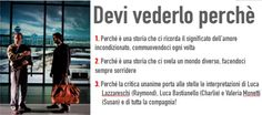 """La Compagnia della Rancia porta a Udine """"RAIN MAN"""" (29 novembre al 2 dicembre 2012)"""