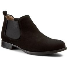 Ghete Jodhpur UNISA - Carman Ks Black Kid Suede