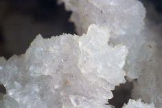Jarlite, Na(Sr,Na,[ ])7(Mg,[ ])Al6F32(OH,H2O)2, Ivigtut Cryolite deposit, Ivittuut, Arsuk Fjord, Sermersooq, Greenland. Fov 5 mm. Small crystals and crystalline. Copyright: © 2008, JGW