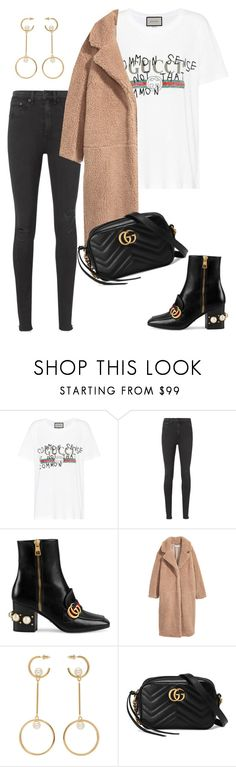 """Untitled #2133"" by kellawear on Polyvore featuring Gucci, rag & bone, H&M and Chloé"