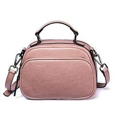 7fef737306b4 sacos de mulheres bolsa de ombro de couro de napa zíper corar rosa / preto /
