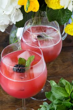 Blackberry Pineapple Smash - What's Gaby Cooking