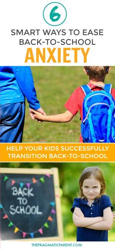 Ease Your Child's Back to School Fears and Anxiety With These Helpful Tips. How to Calm Back to School Nerves and School Jitters. Help Your Child Get Ready and Excited to Head Back to School. What to do when your child is anxious for school. Tips to help the child who doesn't want to go to school. #schoolanxiety #anxiousaboutschool