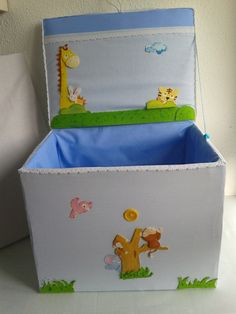 handmade baúl http://cajas-enteladas.jimdo.com/cajas/