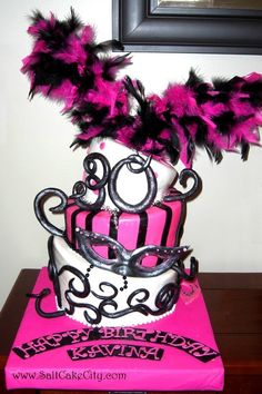 masquerade party cake table setup - Google Search | My 30th ...