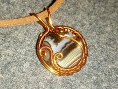 WIRE WRAP TUTORIAL Clouds and Moon Pendant - YouTube