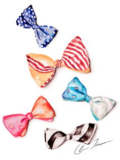 Bow ties by Hello|Claire www.helloclaire.com