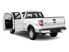Ford F-150 SuperCab White Color