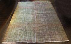 Vintage shaved rug No. 43