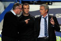 Paul Lambert and Jose Mourinho clashes at the Chelsea- Aston Villa:2-1,August,2013!!