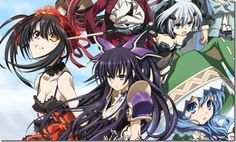 Date A Live Anime Kurumi Tokisaki Promo #anime