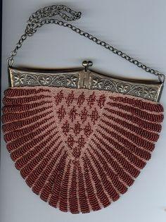 Pretty Victorian Purse Vintage Purses, Vintage Bags, Vintage Handbags,  Flappers, Vintage Accessories fc5b637f1f