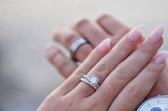 Shop Simon G. Jewelry at our Peters Township or Caste Village locations to find the perfect engagement and wedding rings for both of you!
