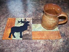 Linda Walsh Originals Dolls and Crafts Blog: Log Cabin Mug Rugs - New E-Patterns For Inspired Creations By D