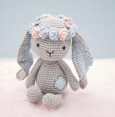 Matilda the Bunny amigurumi pattern by LittleAquaGirl
