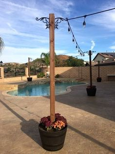 30 Amazing Backyard Patio Remodel Ideas - Outdoor Lighting - Ideas of Outdoor Lighting - Amazing Backyard Patio Remodel Ideas 33