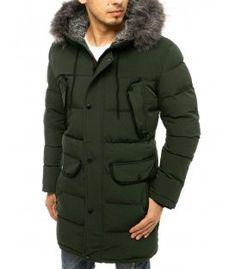 Zelená zimná prešívaná bunda Man Quilt, Winter Quilts, Canada Goose Jackets, The North Face, Winter Jackets, Urban, Zipper, Parka, Sleeves