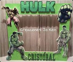 Hulk Party, Superhero Party, Hulk Birthday Parties, Birthday Party Decorations, Avengers Birthday, Bendy And The Ink Machine, Rice Vermicelli, Ideas, Birthday Party Ideas