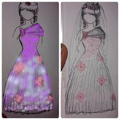 #fashiondesign B/A coloring use photo editing application