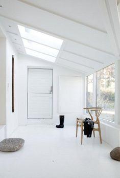 let the landscape show through it...  Hygge House, Jonas Bjerr-Poulsen, Copenhagen