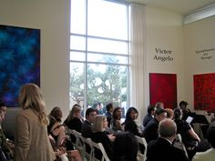 Victor Angelo Artist Reception Contemporary Art Modern Paintings Public Art Abstract Paintings