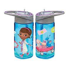 Disney Jr. Doc McStuffins 14 oz. Acrylic Tritan Water Bottle #VandorLLC