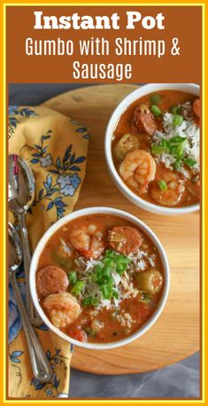 Gumbo can be intimidating to make. Easily make it with these step by step instructions on how to make Instant Pot Gumbo with Shrimp and Sausage. It will be so delicious, even New Orleans would be proud!