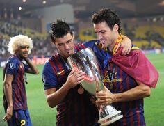David Villa & Cesc Fabregas - FC Barcelona