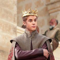 KING Bieber :)
