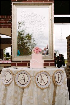 Classy wedding with rose gold accents. Captured By: Anne Brookshire #weddingchicks http://www.weddingchicks.com/2014/07/09/cloudy-yet-classy-wedding/
