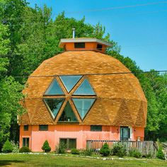geodesic dome house near St Michael's, Maryland, USA