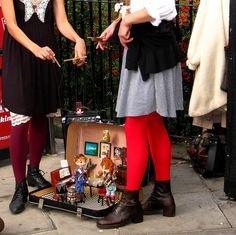 Notting Hill Puppetry by Nylons and Cake, via Flickr