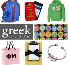 ✰ WELCOME NEW sorority sugar sweet elite sponsor ~ GREEK GEAR!!!!!! ✰ the GREEK GEAR superstore has everything you're looking for in sorority gifts, decor, jewelry, apparel, and much more. they are the perfect place to shop for bid day, new member treats and big/little gifties!! and happily they carry sugar for ALL 26 NPC chapters! mega choices • top brands • one stop giftie shopping! ✰ CLICK on the new greek gear sidebar AD on the sorority sugar homepage, or SHOP:  http://www.greekgear.com/