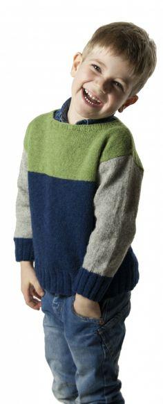 Adam pattern by Lene Randorff – Kindermode sommer Baby Knitting Patterns, Baby Sweater Knitting Pattern, Knit Baby Sweaters, Boys Sweaters, Knitting For Kids, Knitting Designs, Hand Knitting, Baby Hoodie, Patagonia Pullover