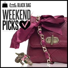 Check out the sweet new arrivals that just hit the gallery! ♥ #cute #girly #bowa #handbags #pink #love