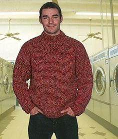 Weekend Turtleneck by Drew - The Crochet Dude, via Flickr