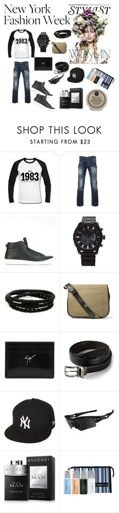 """Created in the Polyvore iPhone app. http://www.polyvore.com/iOS"" by maria-jesus-da-silva ❤ liked on Polyvore featuring KAROLINA, nineteen, Paul Smith, 21 Men, Porsche Design, Dries Van Noten, Giuseppe Zanotti, Dockers, New Era and Oakley"