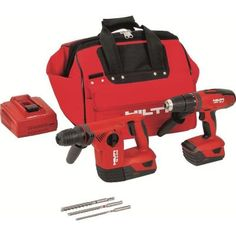 Hilti 18-Volt Lithium-Ion Cordless Rotary Hammer Drill/Hammer Drill Driver Combo Kit (2-Tool) $849.00 #BestPrice