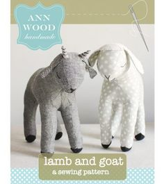 lamb and goat sewing pattern                                                                                                                                                                                 More