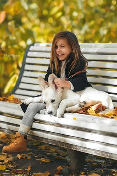 Precious child and her dog... - [someone else's caption] - Thanks to Ashaley Lenora for sending me another wonderful addition to this board.
