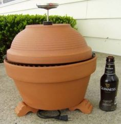 Clay Pot Smoker Youtube Video Instructions And Plans