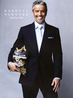 TR Pescod, gorgeous friend of Ina Garten ~ I know, but his style ...<3
