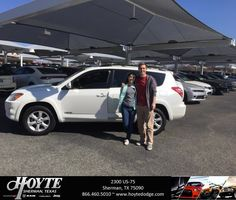 Congratulations Ashley on your #Toyota #RAV4 from Randy OBrien at Hoyte Dodge RAM Chrysler Jeep!  https://deliverymaxx.com/DealerReviews.aspx?DealerCode=R491  #HoyteDodgeRAMChryslerJeep