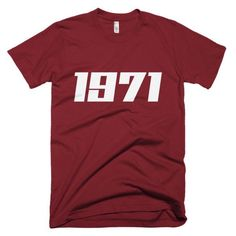 1971 Men's T-shirt