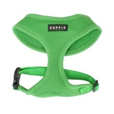 Puppia Soft Dog Harness, Green, Medium by Puppia, http://www.amazon.com/dp/B004XM62BM/ref=cm_sw_r_pi_dp_Rj67qb11SS9N0