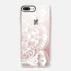 White lace  - Classic Grip Case