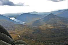 The Silent Valley from the summit of Slieve Bernagh in the Mournes , Sept. 11. Submitted by Wilfred Swain