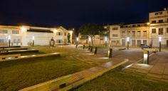 Plaza Victor J. Cuesta Reminds us of the Importance of Public Space Urban Furniture, Cheap Web Hosting, Plaza, Light Shades, Landscape Architecture, Mansions, House Styles, Cuenca Ecuador, Public Spaces